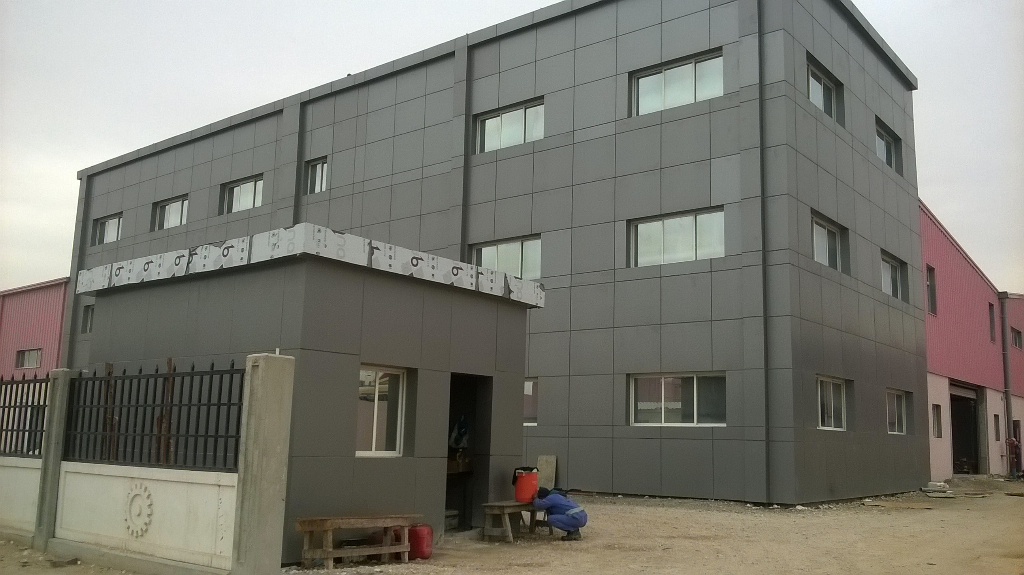 STEEL DUCT FACTORY ( G+M ) & OFFICE BUILDING ( G+2 )